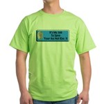 Save Your Ass Green T-Shirt