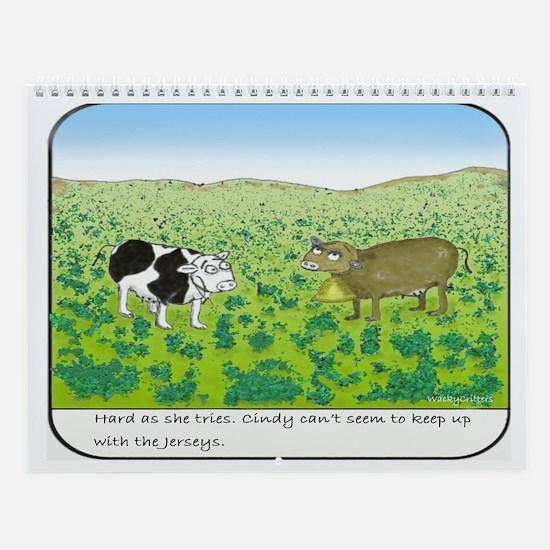 Jersey Wall Calendar