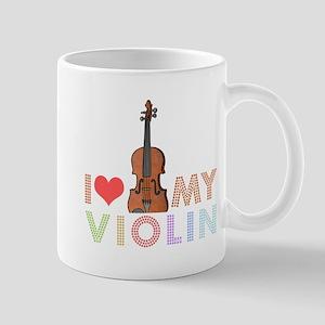I Love My Violin Mug