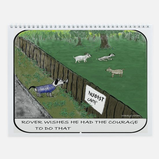 Nudist Wall Calendar