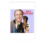 'Get Stupid' Postcards (Package of 8)