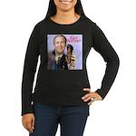 'Get Stupid' Women's Long Sleeve Dark T-Shirt