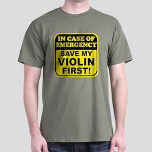 Save My Violin Dark T-Shirt