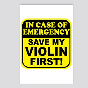 Save My Violin Postcards (Package of 8)