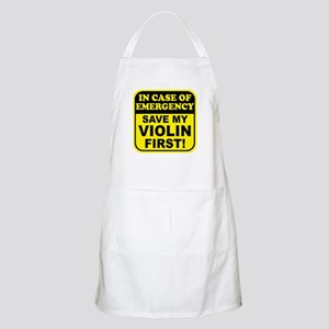 Save My Violin BBQ Apron