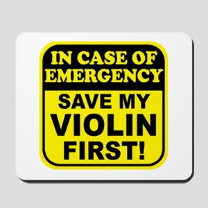 Save My Violin Mousepad