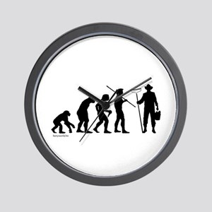 Farmer Evolution Wall Clock