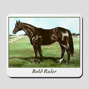 "Thoroughbred ""Bold Ruler"" Mousepad"