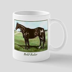 "Thoroughbred ""Bold Ruler"" Mug"