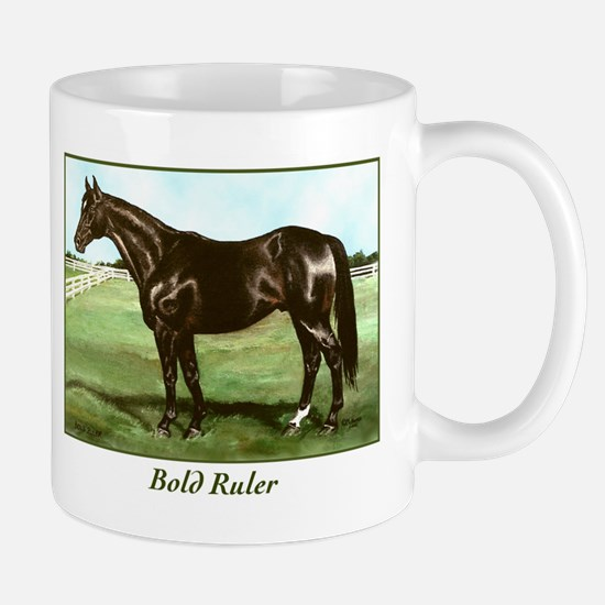 "Thoroughbred ""Bold Ruler"" Mug"