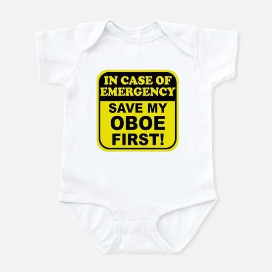 Save My Oboe Infant Bodysuit