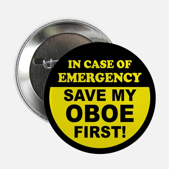 """Save My Oboe 2.25"""" Button"""