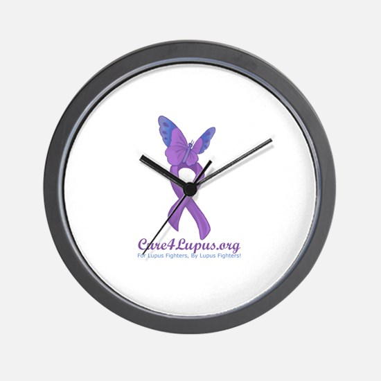 Cure4Lupus.org Logo Wall Clock