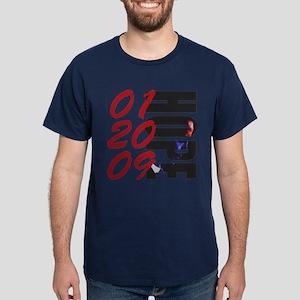 01 20 09 Obama Hope Dark T-Shirt