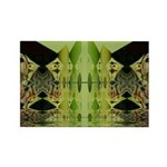 Temple Entrance Collection Rectangle Magnet