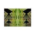 Temple Entrance Collection Rectangle Magnet (100 p