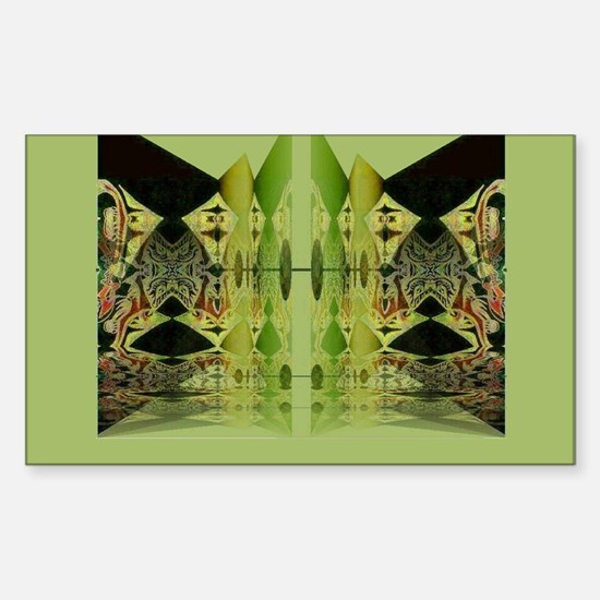 Temple Entrance Collection Rectangle Decal