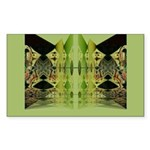 Temple Entrance Collection Rectangle Sticker