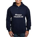 Chappy Chanukah Hoodie (dark)