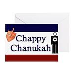 Chappy Chanukah Greeting Card