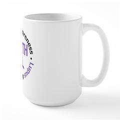Lupus Faith Large Mug