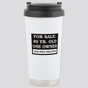 For Sale 80 year old Stainless Steel Travel Mug