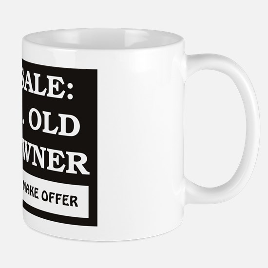 For Sale 50 Year Old Birthday Mug