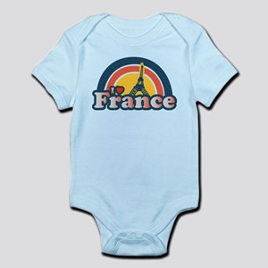 I Heart France Infant Bodysuit