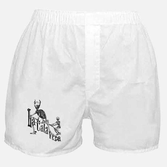 Calavera del Diablo Boxer Shorts