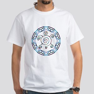 Spiral Turtles White T-Shirt