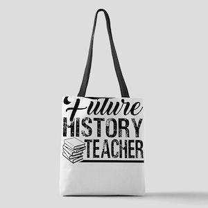 History Teacher Polyester Tote Bag