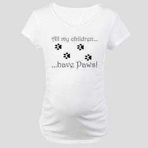 Kitty Kids Maternity T-Shirt