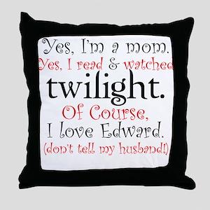 Twilight Moms 4 Throw Pillow