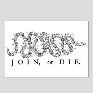 Join or Die 2009 Postcards (Package of 8)