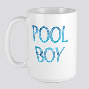 Pool Boy Large Mug