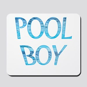 Pool Boy Mousepad