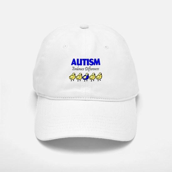 Autism, Embrace Differences Baseball Baseball Cap