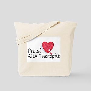 Proud ABA Therapist Tote Bag