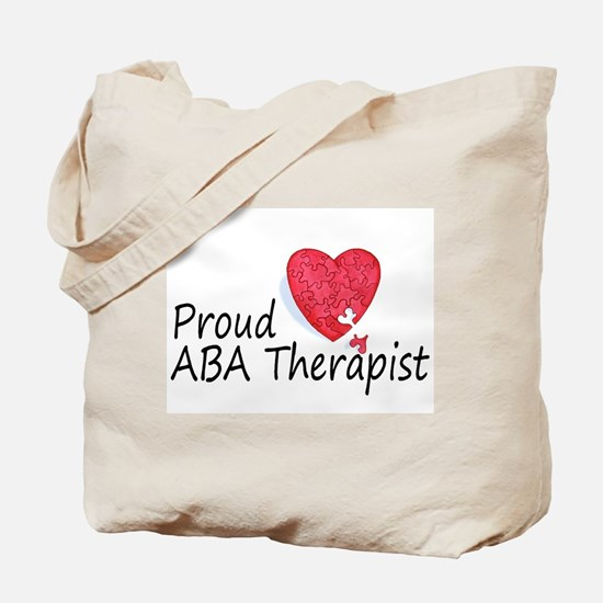 Proud ABA Therapist Tote Bag