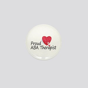 Proud ABA Therapist Mini Button
