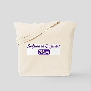 Software Engineer mom Tote Bag