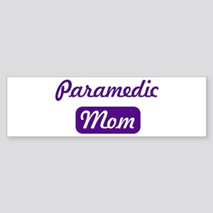 Paramedic mom Bumper Sticker