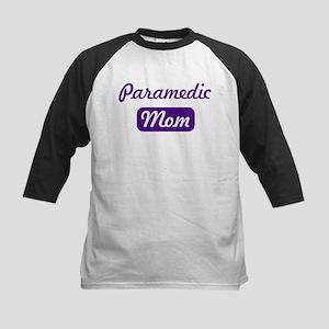 Paramedic mom Kids Baseball Jersey