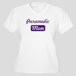 Paramedic mom Women's Plus Size V-Neck T-Shirt