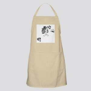 Cherub carrying books BBQ Apron
