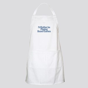 I'd Rather be BBQ Apron