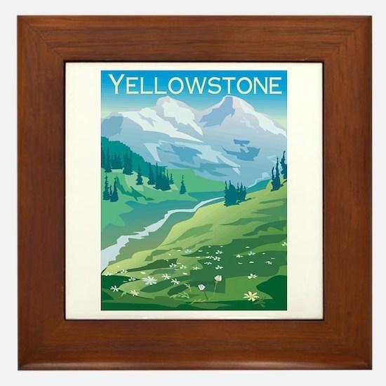 Yellowstone Framed Tile