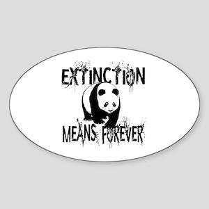 Panda Extinction1 Sticker