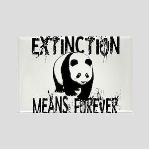 Panda Extinction1 Magnets