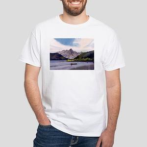 Redfish Lake White T-Shirt
